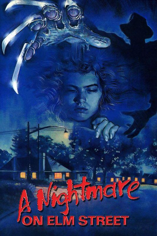 Nightmare on elm street movie film classic a3 art print poster yf5380