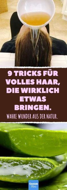 9 Tricks für volles Haar, die wirklich etwas bringen. #haarausfall #volles #sch… – SABINE WILDE