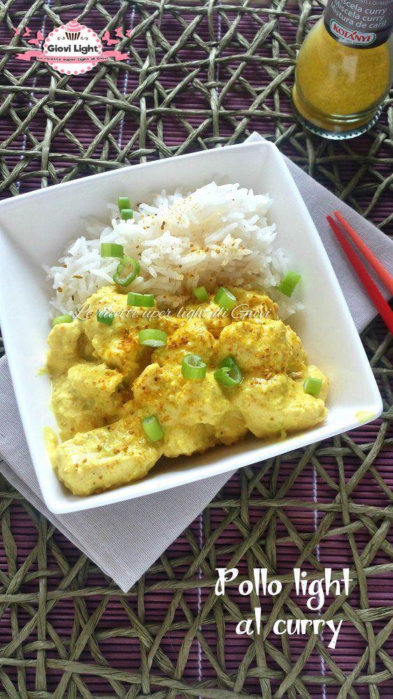 Pollo light al curry, cremoso, morbido e sfizioso, ideale per chi è a dieta o per chi vuole mangiare sano!