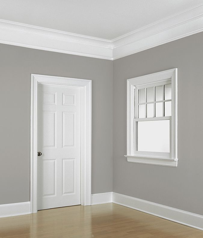 floor to ceiling example of the colonial revival style ForColonial Style Trim