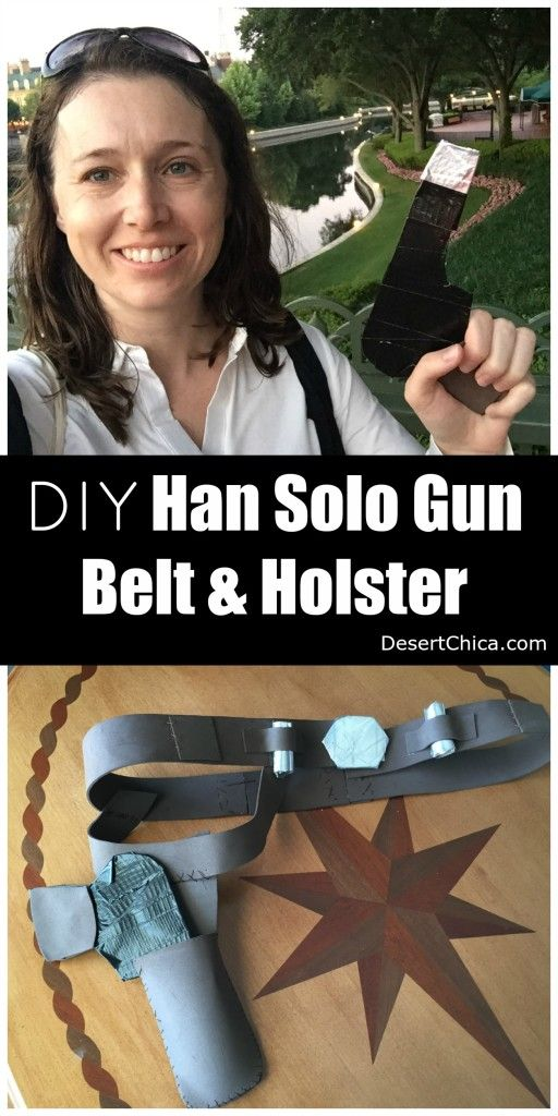 Lightweight and inexpensive Han Solo Belt design perfect for the Star Wars Half marathon or a Han Solo Halloween costume!