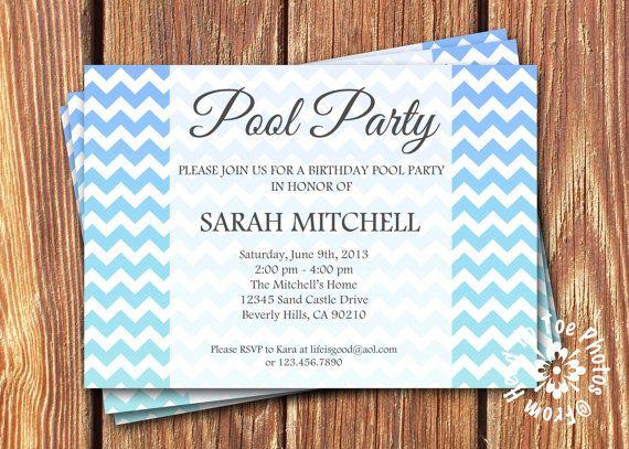 72 best invites images on Pinterest 40th birthday, Birthday - invitation formats