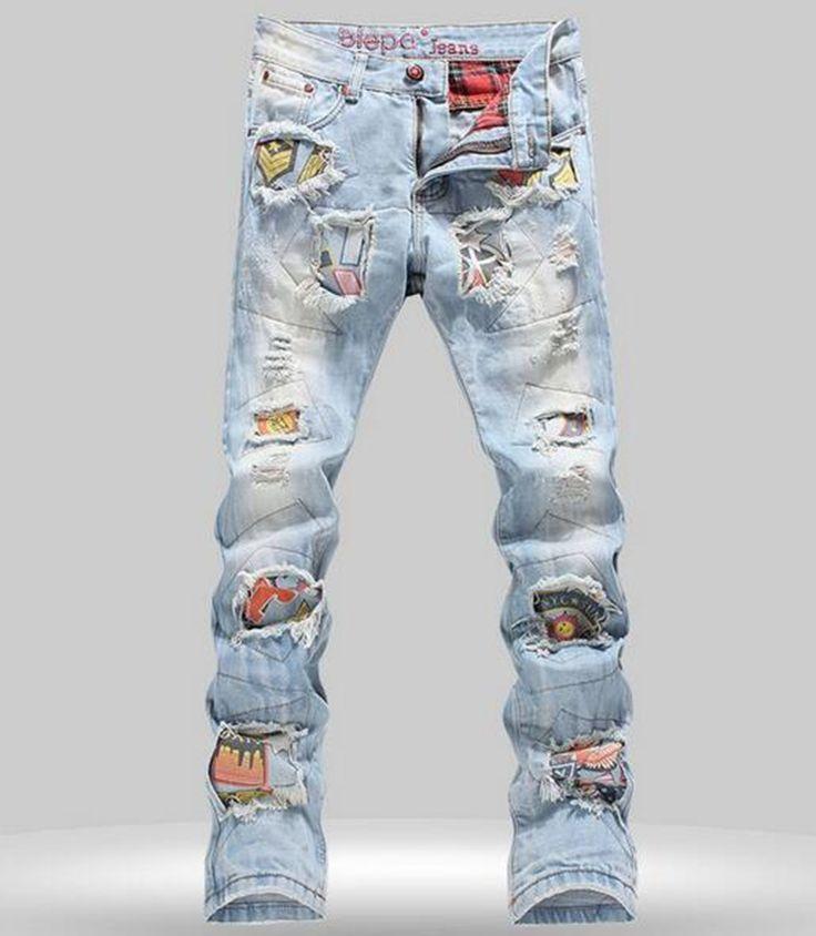 Мужчины цю дон хан издание развивать нравственность личности свободные тонкий знак стадии печати сделать старые ковбойские брюки/28-38