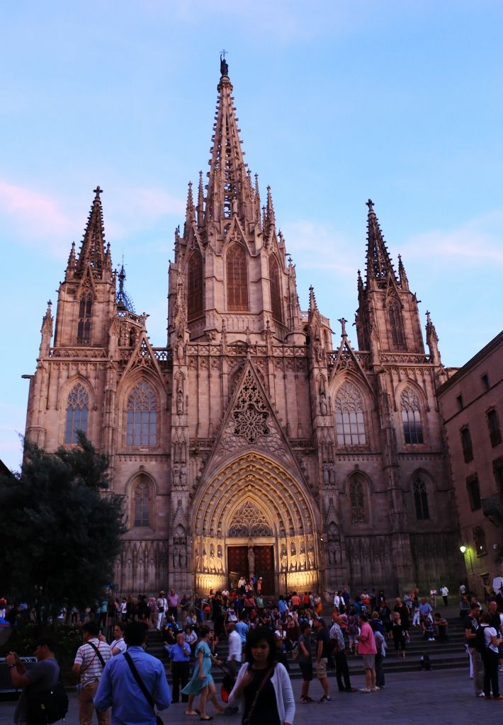 barcelona, gothic city, goottinen kaupunginosa