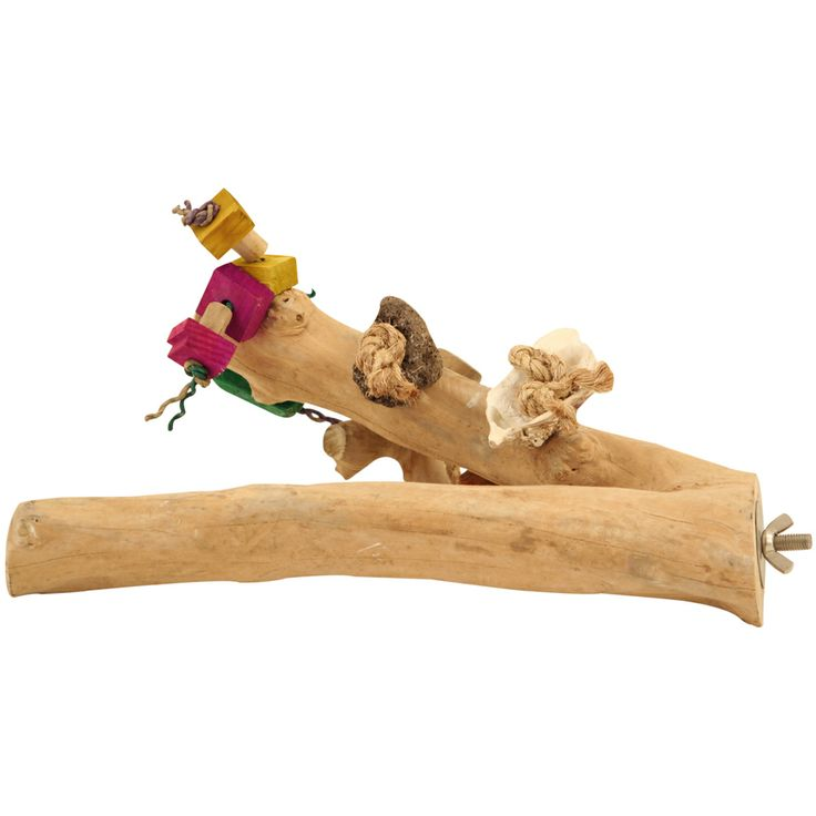 Java Toy Branch Parrot Perch - Large