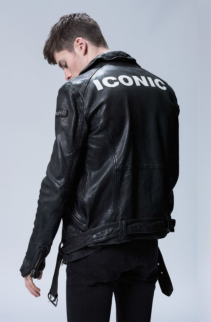 Leather jacket aesthetic - Find This Pin And More On Luv The Jacket