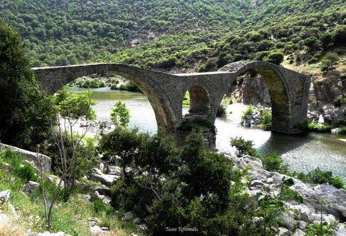 Komotini Iasmos Byzantine bridge