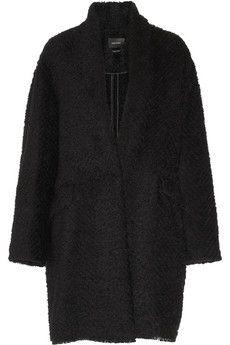 Isabel Marant Gabriel herringbone bouclé coat | NET-A-PORTER