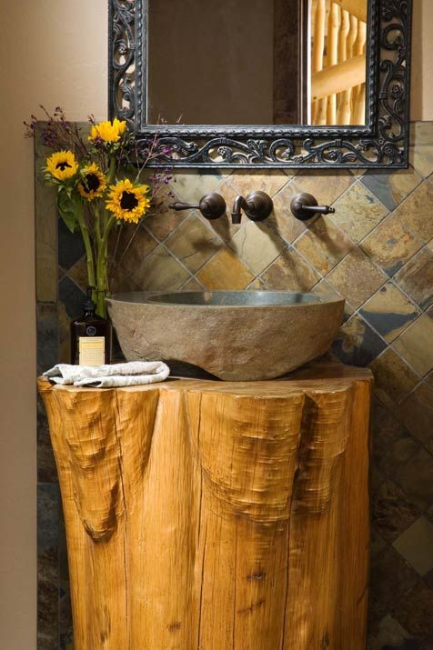 17 Best Ideas About Stone Bathroom On Pinterest Stone
