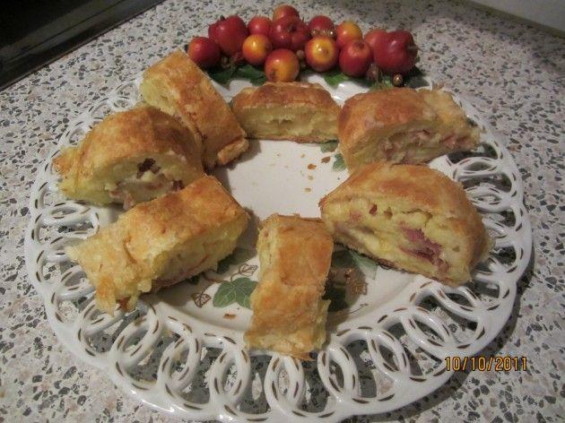 Ricetta rustico di patate e prosciutto - Le ricette de Le Meraviglie di Cicetta