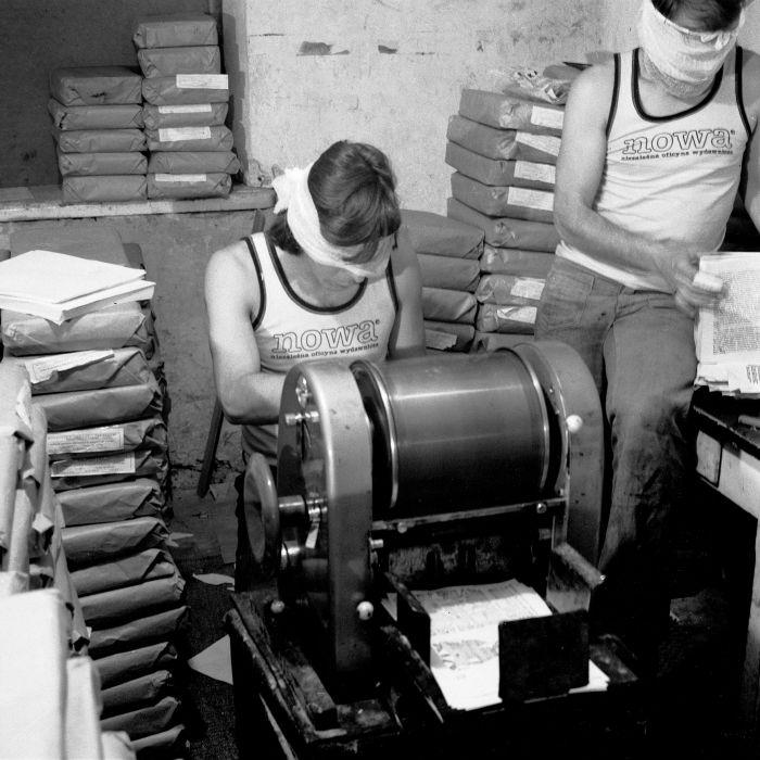 Image result for podziemne drukarnie