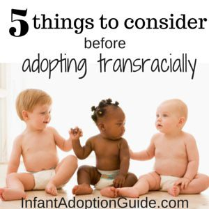 Rachael Garlinghouse - an author and adoptive mom of three sharesfrom her experience about the 5 things you need to consider before adopting transracially.