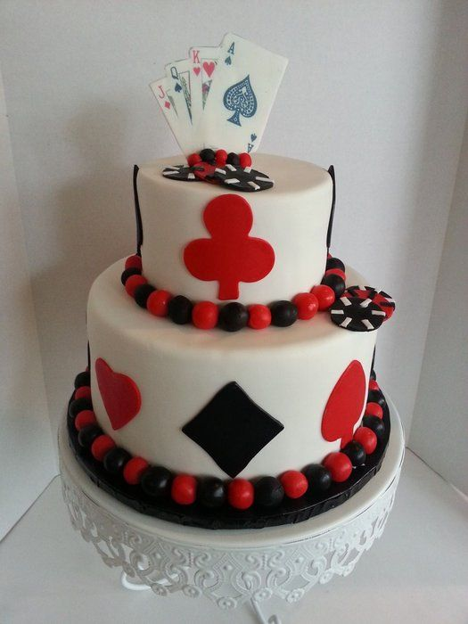 1000 Ideas About Casino Cakes On Pinterest Poker Cake