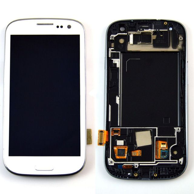 #Samsung #GalaxyS3 i9300 LCD assembly with frame white just in $113.00 #smartphone