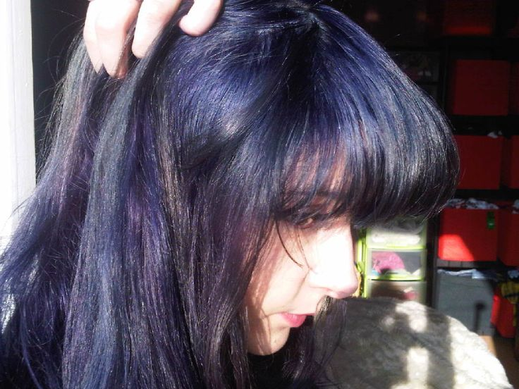 manic panic shocking blue on unbleached hair - Google Search