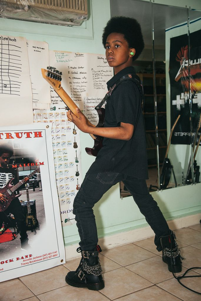 zollin is going to be as cool as these dudes one day. badass!!  Unlocking the Truth is the Most Brutal Sixth Grade Metal Band Ever, Ever, Ever, Ever   NOISEY   VICE