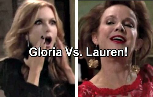 The Young and the Restless Spoilers: Gloria Exploits Lauren's Secret, Causes More Trouble