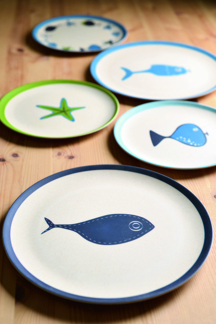 """Eco Friendly Bambooware  8"""" Plate"""
