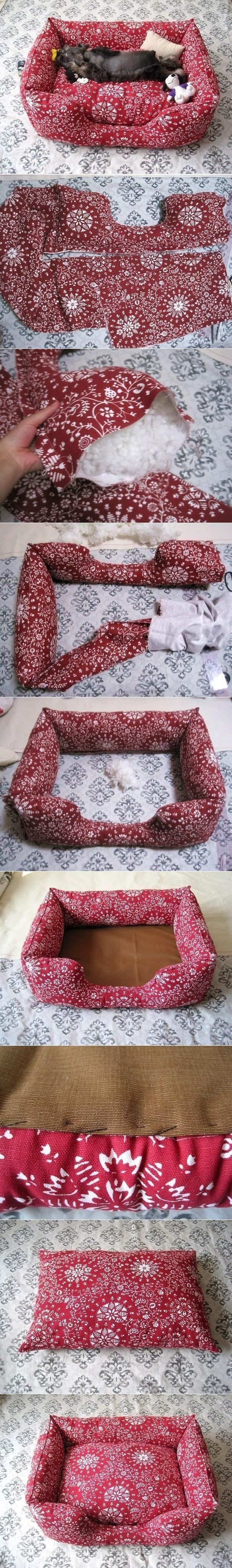 diy fabric pet sofa diy fabric pet sofa i wish i could make the puppies - Diy Tagesliege Mit Baldachin