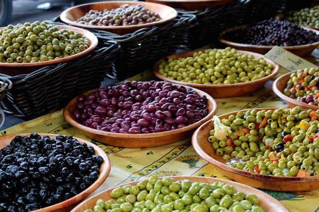 Nueve tipos de aceitunas y qué cocinar con ellas