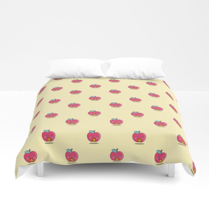 Unhealthy Food Pattern Duvet Cover By Eugeniaart | | #S6GTP ~ Created By  One Of