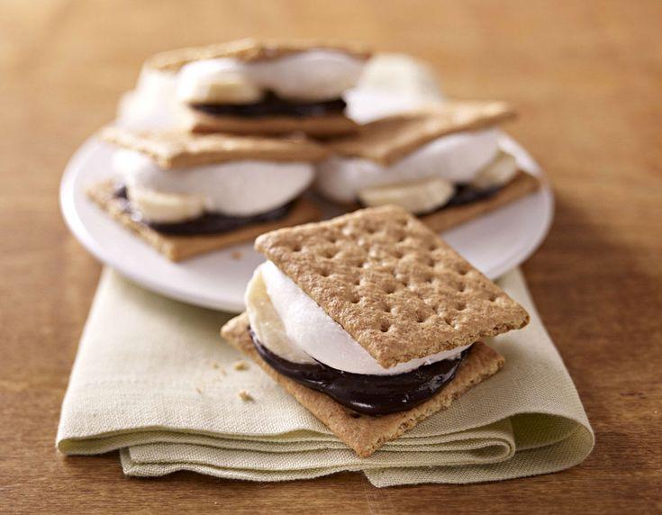 smores recipe health desserts s mores banana recipes chocolate recipes ...