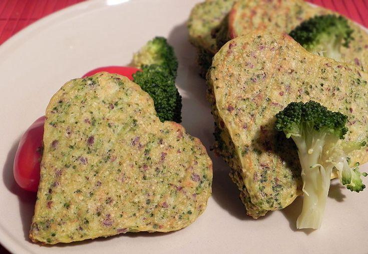 brokolicová srdíčka