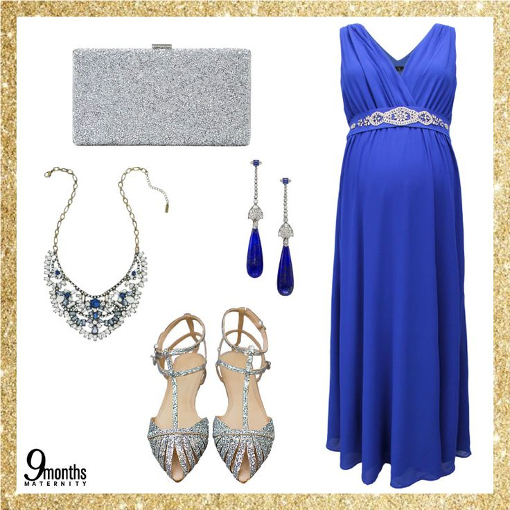 Christmas parties are meant to be regal. Dress to impress your family and friends with a cool royal blue. Don't forget to match it with silver! www.9monthsmaternity.com    #9monthsmaternity #9months #maternitywear #maternityclothes #maternitydress #royalbluedress #dress #pakaianmengandung #christmas #style #outfit #tgif #bajumengandung #bajumenyusui