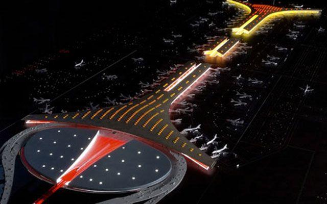 Международный аэропорт китайской столицы Пекин поразит ваше воображение. Этот проект был завершен в 2009 году и был построен с целью обслуживать потребности города для предстоящей Олимпиады.