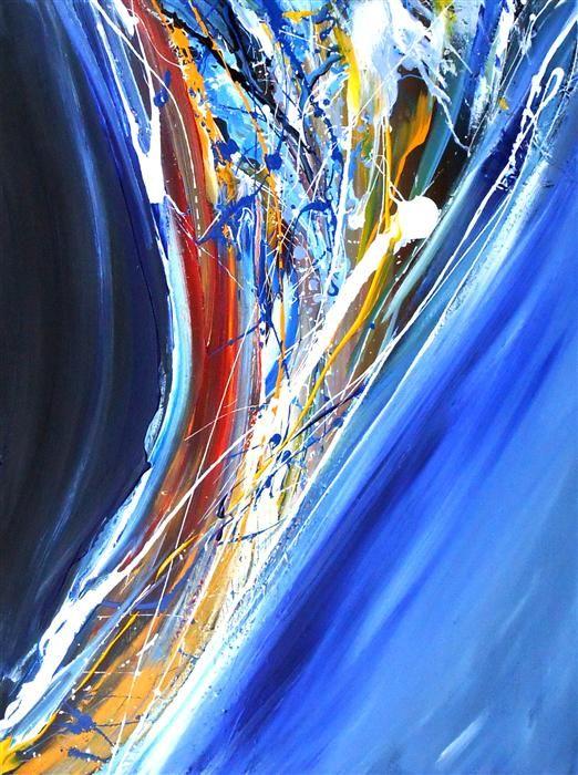 Flowing Upward by Piero Manrique