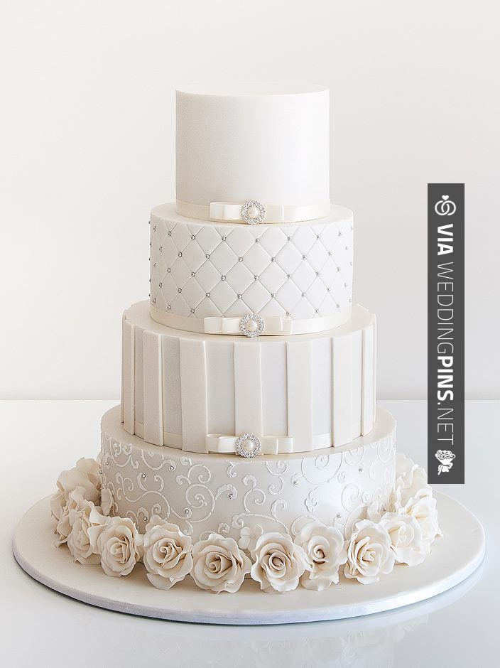 Love this! -  | CHECK OUT SOME GREAT INSPIRATIONS FOR NEW Wedding Cakes 2017…