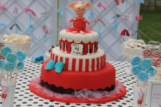 Olivia Birthday Cake by Patricia Reyes