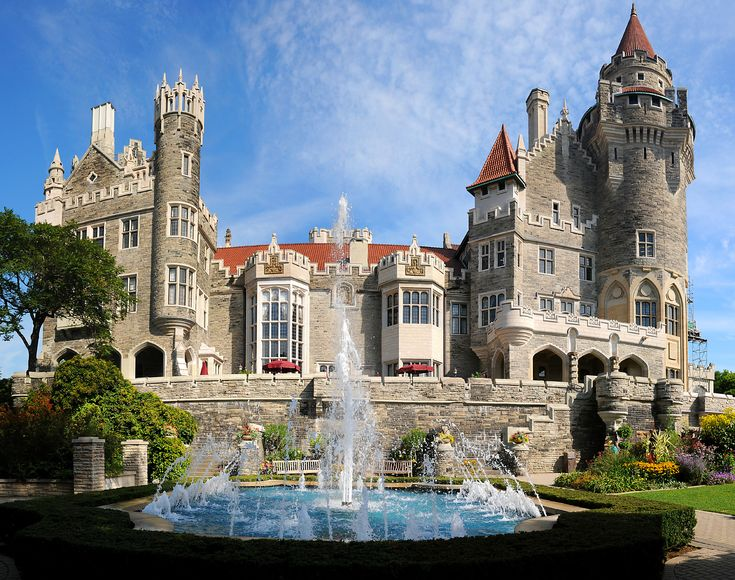 Do you know this castle was was used as a location shoot for the 2002 movie Chicago? Built by wealthy Toronto businessman Sir Henry Pellatt in the early 1900s, It is similar to Hearst Castle in California and represents one man's architectural dream. Tell us the name of castle if you can recognize it?