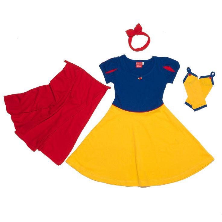 Παιδική πιτζάμα Πριγκίπισσα Μήλο