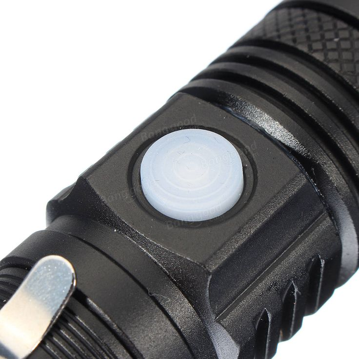 XANES WT518 XM-L T6 1000Lumens 3Modes Portable Zoomable LED Flashlight Sale - Banggood.com