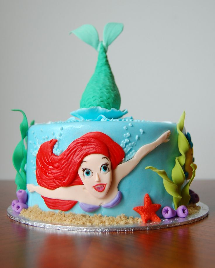 Birthday Cake Ideas Mermaid : 60 best JCM 2016 images on Pinterest Little mermaids ...