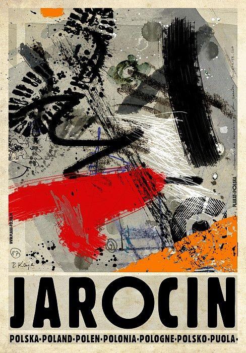 Jarocin, Polish Promotion Poster, Ryszard Kaja