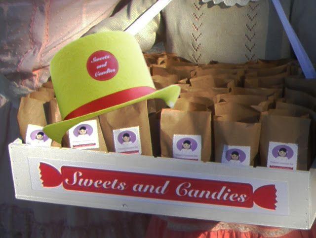 Las bandejas de dulces como las de los años 20 del siglo pasado