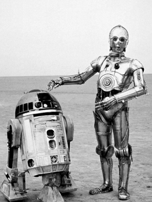 star wars Black and White Photography