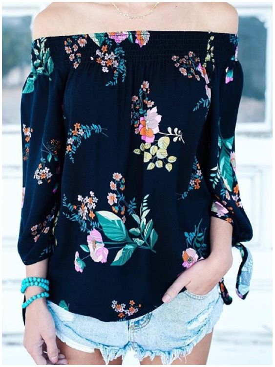 **** Stitch Fix Summer 2017 inspo! LOVE the off the shoulder AND floral trend. Pair with your favorite distressed denim for a gorgeous, laid back outfit. Stitch Fix has the best selections of off the shoulder, floral and distressed denim. Get your picks today!! Simply click the picture to get started and ask your stylist for on trend styles. #sponsored #StitchFix