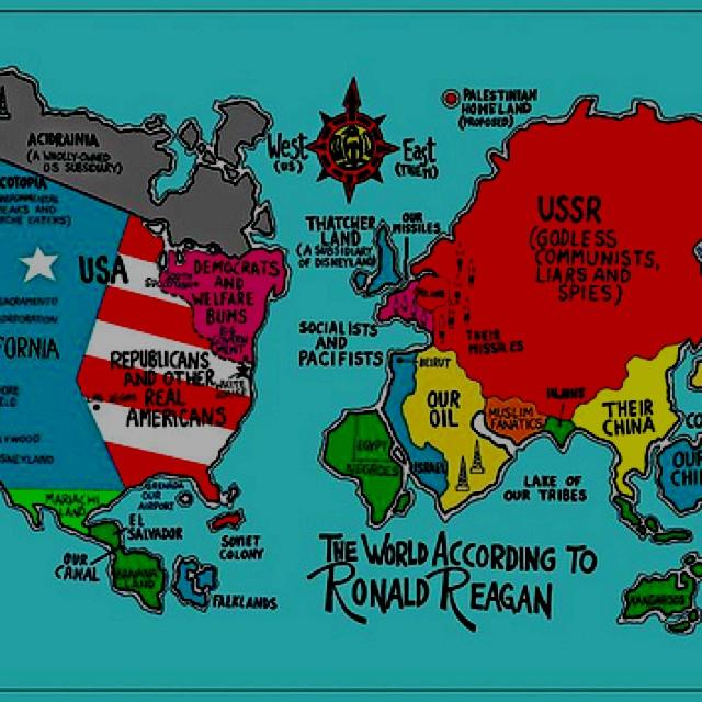 politics maps ronald reagan - photo #4