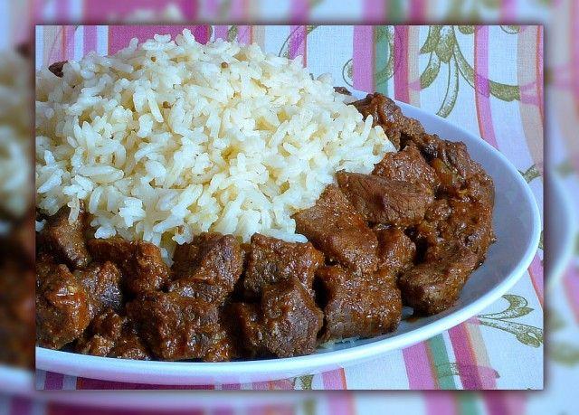 Рис с мадрасским карри