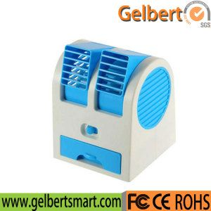 Desktop Dual Bladeless USB Cooling Air Conditioner Mini Small Fan on Made-in-China.com