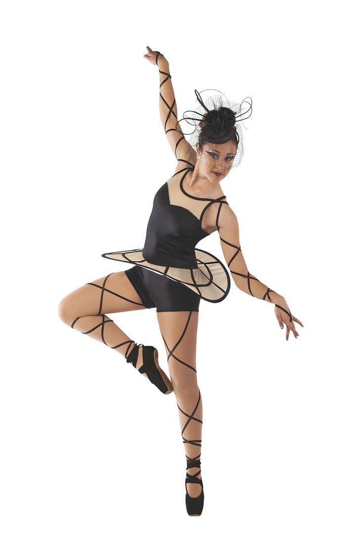 instockdancecostumes ballet contemporary costume details - Halloween Ballet Costumes