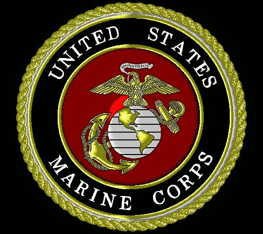 Usmc Logo Wallpaper: ... Corps Chapel Window Dedicated To