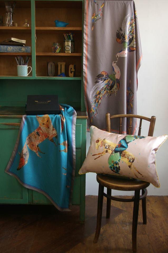 Lovatt, Luxury illustrated textiles…