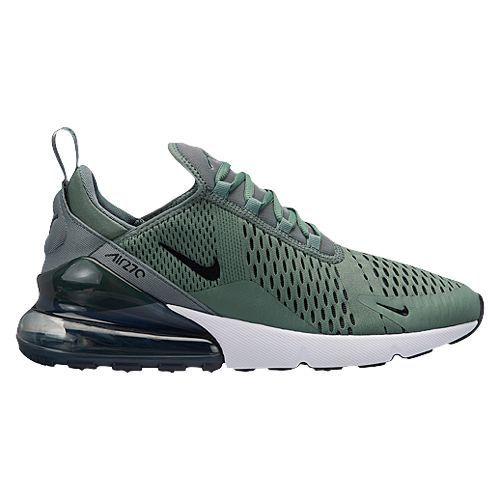 Men s Nike Air Max 270 - Clay Green Black Deep Jungle White H8050300 ... ab8bd364c07e