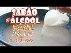 Sabão Liquido Caseiro Limpeza total Roupas Delicadas-Sir Super Mamy - YouTube