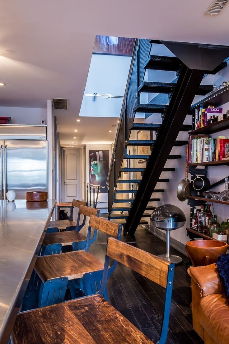 Charming Industrial Loft With Gothic Accents, Toronto ...