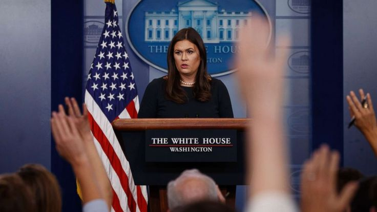 """White House press secretary Sarah Sanders deflected questions Monday about the specific words employed by President Donald Trump to describe NFL players kneeling in protest during the national anthem, saying only that it's """"always appropriate"""" to defend the flag and national... - #House, #Profane, #Questions, #Sidesteps, #TopStories, #Trumps, #White"""
